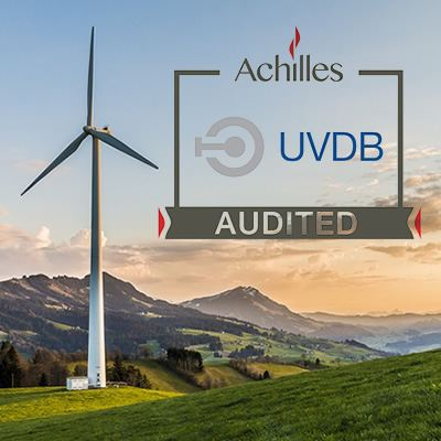 Top marks for accreditation on Achilles UVDB renewal